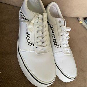 White Old Skool Men's shoes size 12